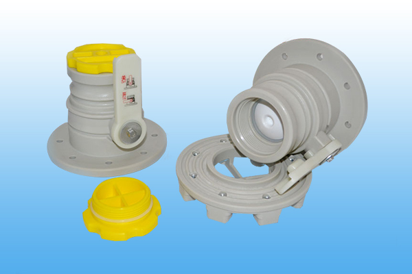 3 inch yellow cover ball valve
